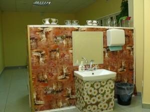 возможность детям поухаживать за собой и вымыть руки перед едой.