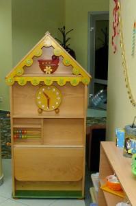 детский домик где можно в игровой форме осваивать практические навыки взрослой жизни