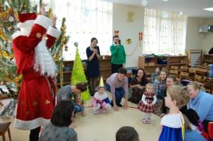 новый год вместе с детьми в группе монтессори