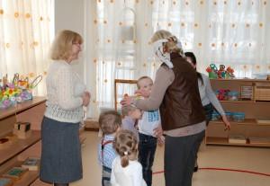 найти своего ребенка в детском саду