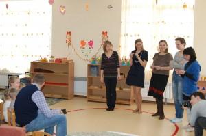 активность детей в группе монтессори
