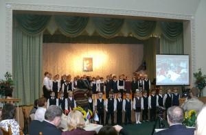 детский хор из Киевской начальной школы Монтессори